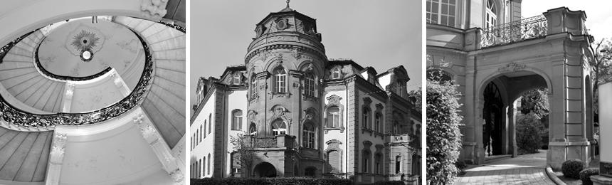 Weisgerber1928 - Schwarzweiss Foto Büro Eingangsbereich